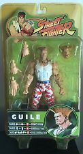 SOTA Guile Street Fighter Action Figure Red White And Blue