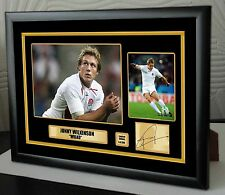 "Jonny Wilkinson Rugby Union Framed Canvas Tribute Print Signed ""Great Gift"""