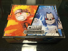 Naruto Shippuden CCG Tournament Pack 3 Sealed Booster Box Bandai + Promo Cards