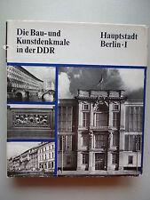 Bau- und Kunstdenkmale in der DDR Hauptstadt Berlin I 1984