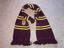 Harry Potter Gryffindor Hogwarts School Winter Scarf Christmas Gift Granger