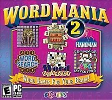 Word Mania 2 (PC, 2008) *New,Sealed*