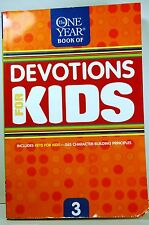 The One Year Devotions for Kids No. 3 by Children's Bible Hour Staff and Jill...