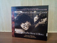 LITTLE RICHARD & JERRY LEE LEWIS, 2 CD DELUXE EDITION - THE KINGS OF ROCK N ROLL