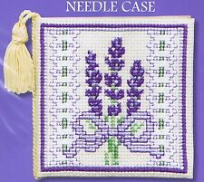 Victorian Lavender Needle Case Cross Stitch Kit By Textile Heritage Floral