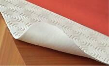 Tischschoner Tischdeckenunterlage Tischpolster mit Gummizug Eckig 105x165cm Weiß