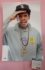 WIZ KALIFA hand signed 12x18 photo PSA DNA COA genuine autograph poster