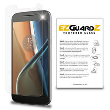EZguardz Premium Tempered Glass Screen Protector For Motorola Moto G4
