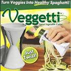 Veggetti Spaghetti Maker Cutter Slicer Kitchen Tool Spiral Funnel Vegetable Hot