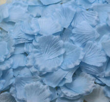 100pcs NEW blue Simulation Rose Petals Flowers For Wedding Party Decoration