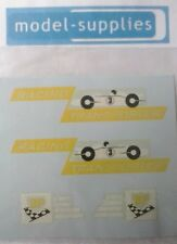"Matchbox M6b Racing car transporter ""BP racing"" reproduction decals"