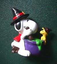 Peanuts Snoopy & Woodstock with Witch's Brew Halloween Figurine