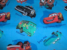 CUSTOM made_ Scrub top_ Disney_cars on blue_filmore_mcqueen_sheriff_more_ XS-3XL