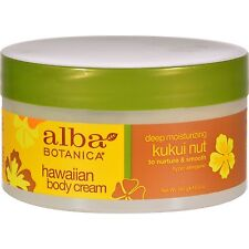 Alba Botanica Hawaiian Body Cream Kukui Nut