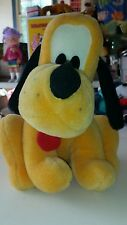 "Disney Vintage  Pluto Dog Plush adult owned 10"" high"