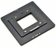 Hasselblad H Zurück Für Linhof 6x9 Adapter F Phase One Sinar Blatt Hasselblad