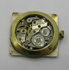 Concord  #214 Mechanical - Complete Running Movement - Sold 4 Parts / Repair !
