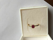 Bague Rubis Or 750 T54
