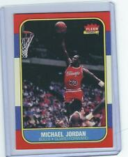 1986 FLEER MICHAEL JORDAN ROOKIE RC CARD REPRINT #57 NICE CARD