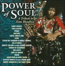 Power of Soul: A Tribute to Jimi Hendrix by Various Artists (CD, Apr-2011,...