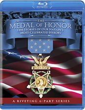 "new Blu-Ray, ""Medal of Honor"" NEW 6-part military history action series! sealed"