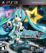 Hatsune Miku: Project DIVA F [Playstation 3 PS3 Classic Part 1 Anime Music] NEW
