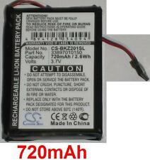 Batterie 720mAh Pour Becker Traffic Assist type 07837MHSV 338937010150 S30