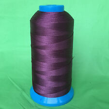 Dark Purple Bonded Nylon sewing Thread #69 T70 Upholstery canvas shoe 1500yds