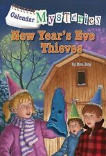 Calendar Mysteries #13: New Year's Eve Thieves by Ronald Roy (2014, Hardcover)