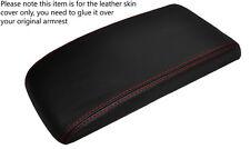 Red stitch accoudoir couverture de peau de cuir s' adapte CHEVROLET cobalt PONTIAC G5 05-10