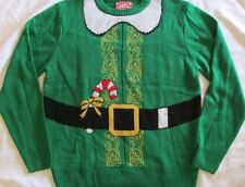 Elf Men's Ugly Christmas Sweater........small...NWT