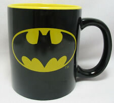 Batman Coffee Cup Mug DC Comics 11 Oz. Black - Yellow  New