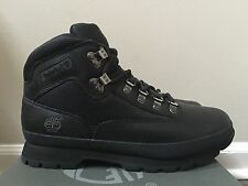 SALE Timberland Euro Hiker FL Black 56038 Size 8.5 M NEW 100% Authentic