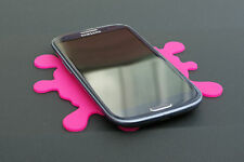 Pink Splat! Dashboard Mat  Silicone Rubber Grippy Pad - for securing your item