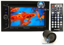"pkg FARENHEIT TI-623B DOUBLE DIN 6.2"" TV CD DVD USB SD BLUETOOTH + BACKUP CAMERA"