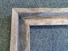 Picture Frame- Real Authentic Rustic Barnwood Unfinished Country Style- 18 x 24