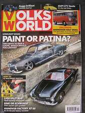 Volksworld October 2016 Volkswagen VW Beetle Empi GTV Karmann Ghia Coupe '51 Bus