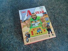 THE A-TEAM TIGER LCD HANDHELD GAME LCD 1985 BOXED 100% COMPLETE WORKING RARE