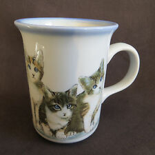 Otagiri Kittens Cats Coffee Mug Cup Made in Japan Feline Animals New Collectible