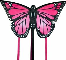 SMALL MONARCH BUTTERFLY KITE PINK- EASY TO FLY KIDS KITE
