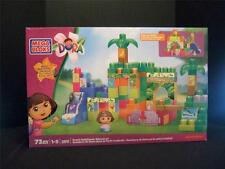 NICKELODEON MEGA BLOKS - DORA'S RAINFOREST ADVENTURE - 73 PIECES - NIB