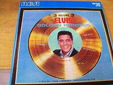 ELVIS PRESLEY GOLDEN RECORD VOL 3  LP MINT - ITALY REISSUE 1976