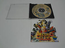 Metal Slug no spine SNK Neo-Geo CD Japan