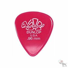 72 Jim Dunlop USA 41R.96 Delrin 500 Standard Pack .96 mm Pink Guitar Picks