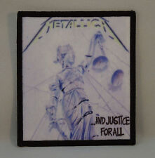 METALLICA ...And Justice For All (Printed Patch) (New)