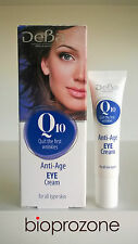 Deba Anti-Age Anti-Wrinkle Eye Contour Cream With Q10 30ml Pro-Retinol Vitamin E