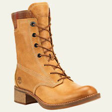 WOMEN'S TIMBERLAND*WHITTEMORE WOOL ACCENT LACE UP BOOTS*COLOR WHEAT/WOOL 5.5 M