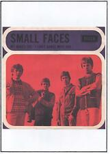 SMALL FACES POSTER, MY MIND'S EYE, Mod, 60's pop, Psychedelia.