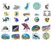 30 Personalized Return Address Labels Catfish Fishing. Buy 3 get 1 free {c1}