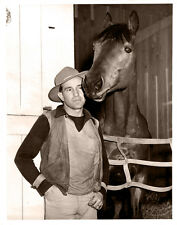 SEABISCUIT 8X10 PHOTO HORSE RACING PICTURE JOCKEY GEORGE WOOLF